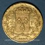 Münzen Charles X (1824-1830). 20 francs 1828A. 900 /1000. 6,45 gr