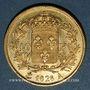 Münzen Charles X (1824-1830). 40 francs 1828A. (PTL 900‰. 12,90 g)