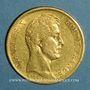 Münzen Charles X (1824-1830). 40 francs 1830A (PTL 900 /10000. 12,80 g)