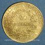 Münzen Consulat (1799-1804). 20 francs an 12 A. (PTL 900‰. 6,45 g)