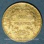 Münzen Consulat (1799-1804). 20 francs an 12A. 900 /1000. 6,45 g