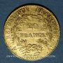 Münzen Consulat (1799-1804). 20 francs an 12A. 900 /1000. 6,45 gr