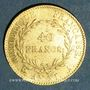 Münzen Consulat (1799-1804). 40 francs an XIA. 900 /1000. 12,90 gr