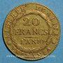 Münzen Italie. Gaule Subalpine (1800-1802). 20 francs an 10. Turin