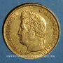 Münzen Louis Philippe (1830-1848). 40 francs tête laurée 1834 A. (PTL 900‰. 12,90 g)