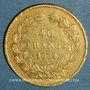 Münzen Louis Philippe (1830-1848). 40 francs tête laurée 1834A. ( PTL 900 /1000. 12,90 g)