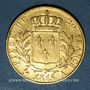 Münzen Louis XVIII (1815-1824). 20 francs buste habillé 1815 A. (PTL 900‰. 6,45 g)