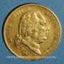 Münzen Louis XVIII (1815-1824). 40 francs 1818 W. Lille. (PTL 900‰. 12,90 g)