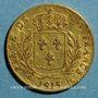 Münzen Louis XVIII, en exil (1815). 20 francs 1815R. Londres. 900 /1000. 6,45 gr