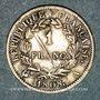 Münzen 1er empire (1804-1814). 1 franc REPUBLIQUE 1808A