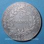 Münzen 1er empire (1804-1814). 5 francs, date grégorienne, 1806A