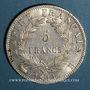 Münzen 1er empire (1804-1814). 5 francs EMPIRE 1811 B. Rouen