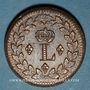 Münzen 1ère Restauration (1814-15). 1er Blocus Strasbourg 1814. Décime 1814BB. Points après DECIME et 1814