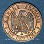 Münzen 2e empire (1852-1870). 1 centime tête laurée 1862A