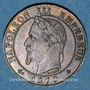 Münzen 2e empire (1852-1870). 1 centime tête laurée 1870A