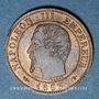 Münzen 2e empire (1852-1870). 1 centime, tête nue, 1853A