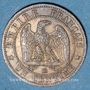 Münzen 2e empire (1852-1870). 1 centime, tête nue, 1853BB. Strasbourg