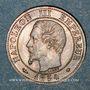 Münzen 2e empire (1852-1870). 1 centime, tête nue, 1854MA. Marseille