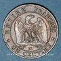 Münzen 2e empire (1852-1870). 1 centime, tête nue, 1857MA. Marseille