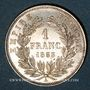 Münzen 2e empire (1852-1870). 1 franc tête nue 1853 A