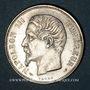 Münzen 2e empire (1852-1870). 1 franc, tête nue, 1853A
