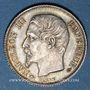 Münzen 2e empire (1852-1870). 1 franc, tête nue, 1858A