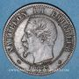 Münzen 2e empire (1852-1870). 2 centimes, tête nue, 1853BB. Strasbourg