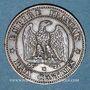 Münzen 2e empire (1852-1870). 2 centimes, tête nue, 1853MA. Marseille