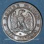 Münzen 2e empire (1852-1870). 2 centimes, tête nue, 1854K. Bordeaux