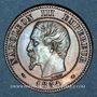 Münzen 2e empire (1852-1870). 2 centimes, tête nue, 1854MA. Marseille
