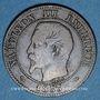 Münzen 2e empire (1852-1870). 2 centimes, tête nue, 1855B. Rouen. Ancre