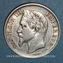 Münzen 2e empire (1852-1870). 2 francs tête laurée 1866A