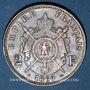 Münzen 2e empire (1852-1870). 2 francs tête laurée 1869 BB. Strasbourg
