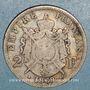 Münzen 2e empire (1852-1870). 2 francs tête laurée 1869A