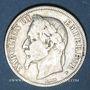 Münzen 2e empire (1852-1870). 2 francs, tête laurée, 1869BB. Strasbourg