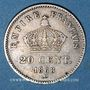 Münzen 2e empire (1852-1870). 20 centimes, tête laurée, grand module, 1868A