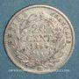 Münzen 2e empire (1852-1870). 20 centimes tête nue 1860BB. Strasbourg