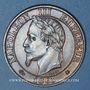 Münzen 2e empire (1852-1870). 5 centimes, tête laurée, 1865A