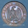 Münzen 2e empire (1852-1870). 5 centimes, tête nue, 1853A