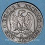 Münzen 2e empire (1852-1870). 5 centimes, tête nue, 1853BB. Strasbourg