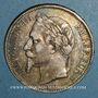 Münzen 2e empire (1852-1870). 5 francs tête laurée 1868 BB. Strasbourg