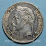 Münzen 2e empire (1852-1870). 5 francs tête laurée 1868A