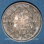 Münzen 2e empire (1852-1870). 50 centimes, tête nue, 1859A