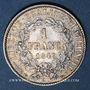 Münzen 2e république (1848-1852). 1 franc 1849A