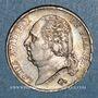Münzen 2e restauration. Louis XVIII (1815-1824). 1 franc 1818A
