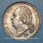 Münzen 2e restauration. Louis XVIII (1815-1824). 2 francs 1822A