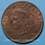Münzen 3e république (1870-1940). 1 centime Cérès, 1872A. Ancre