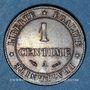 Münzen 3e république (1870-1940). 1 centime Cérès 1884A