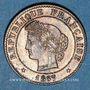 Münzen 3e république (1870-1940). 1 centime Cérès, 1887A