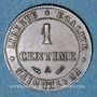 Münzen 3e république (1870-1940). 1 centime Cérès, 1888A